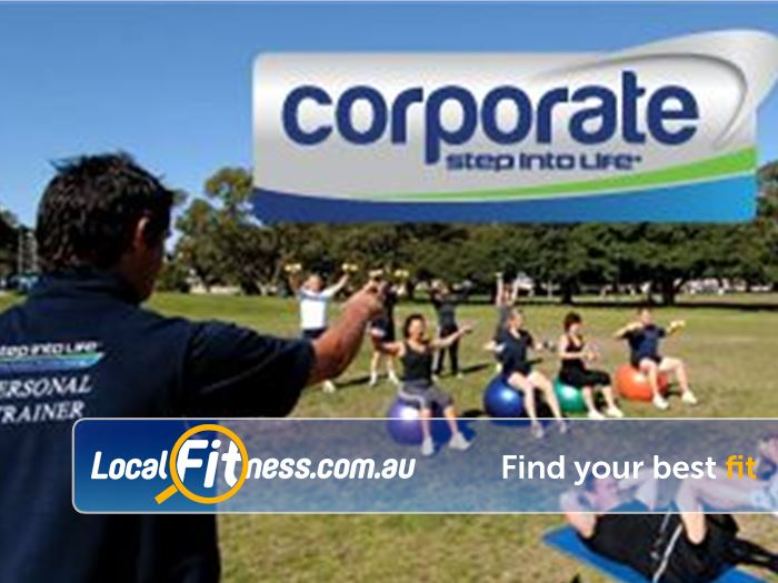 Step into Life Gym Clifton Hill  | Hawthorn corporate fitness training can be exclusively run