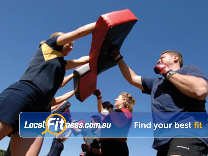 Step into Life Kooyong Outdoor Fitness Outdoor Why box indoors when you can