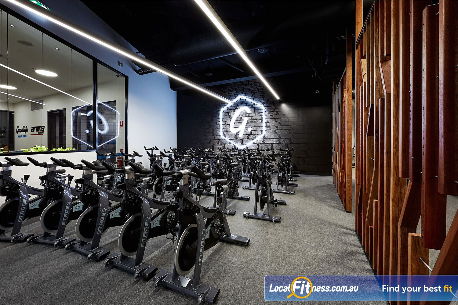 Goodlife Health Clubs West Lakes The dedicated boutique West lakes cycle studio.