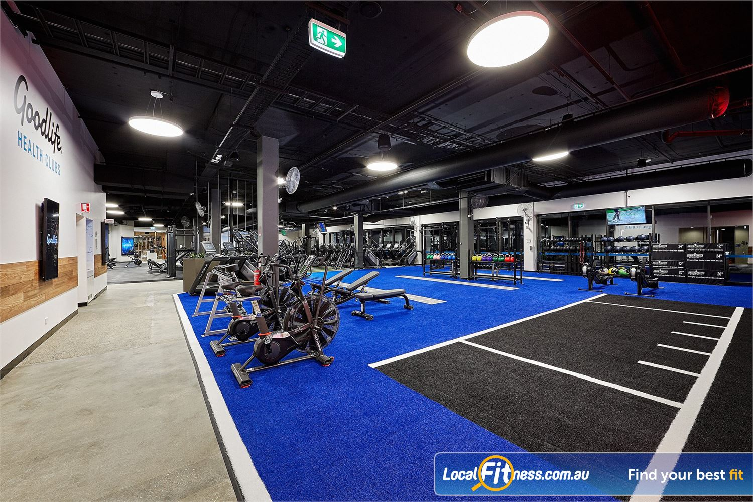 Goodlife Health Clubs West Lakes We bring the latest training methods inc. Functional Training, HIIT training and more to West Lakes.<br />