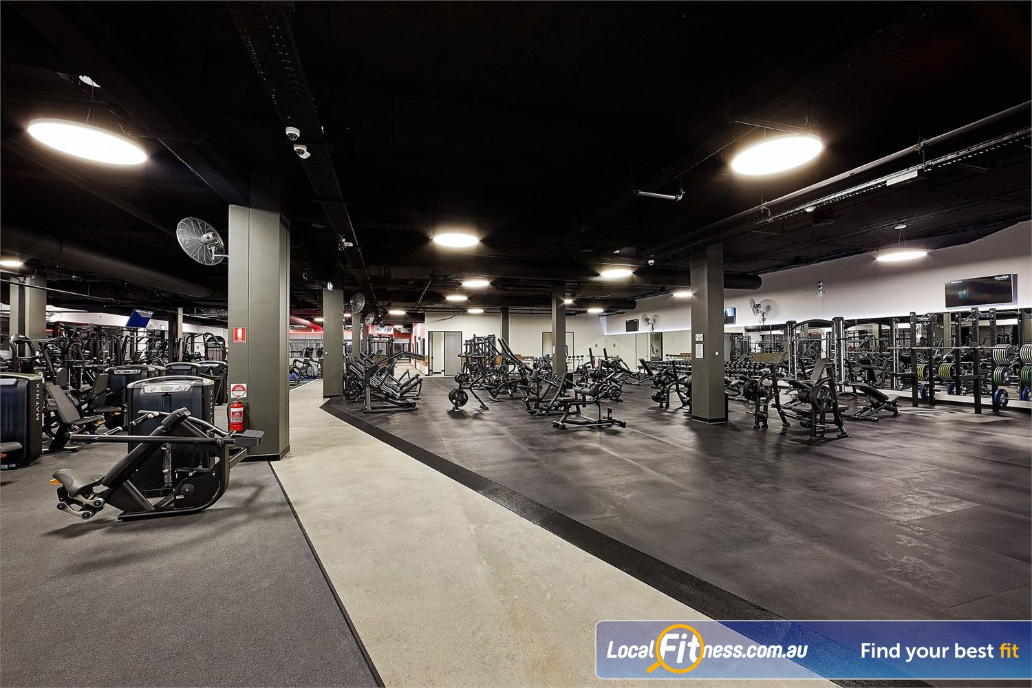 Goodlife Health Clubs Near Grange Our West Lakes gym includes state of the art equipment from MATRIX.