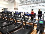 Westgate Health & Fitness Club Newport Gym CardioRows of treadmills means no wait