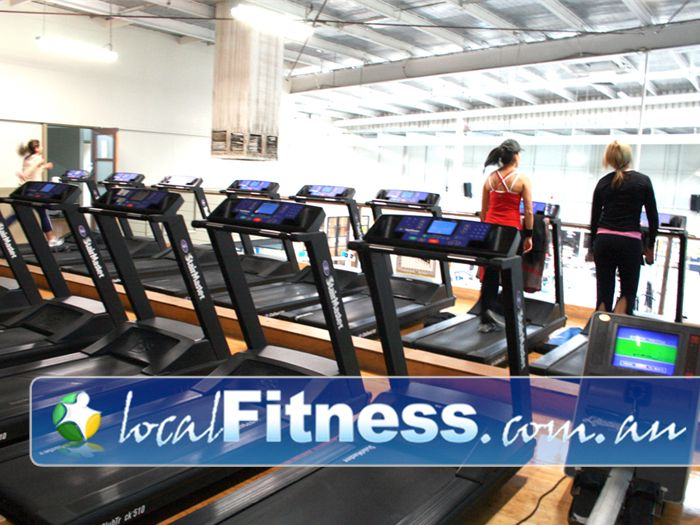 Westgate Health & Fitness Club Gym Newport  | Extensive range of cardio equipment.