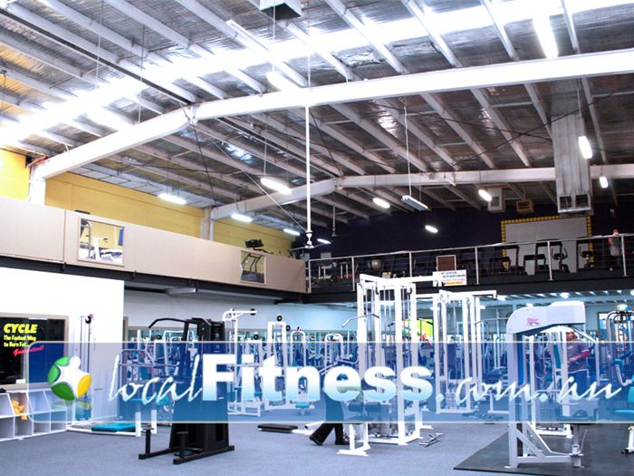 Westgate Health & Fitness Club Gym Newport  | Our huge mixed gym in Altona.