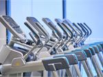 Fitness First Rockdale Gym Fitness Rows of cardio machines so you