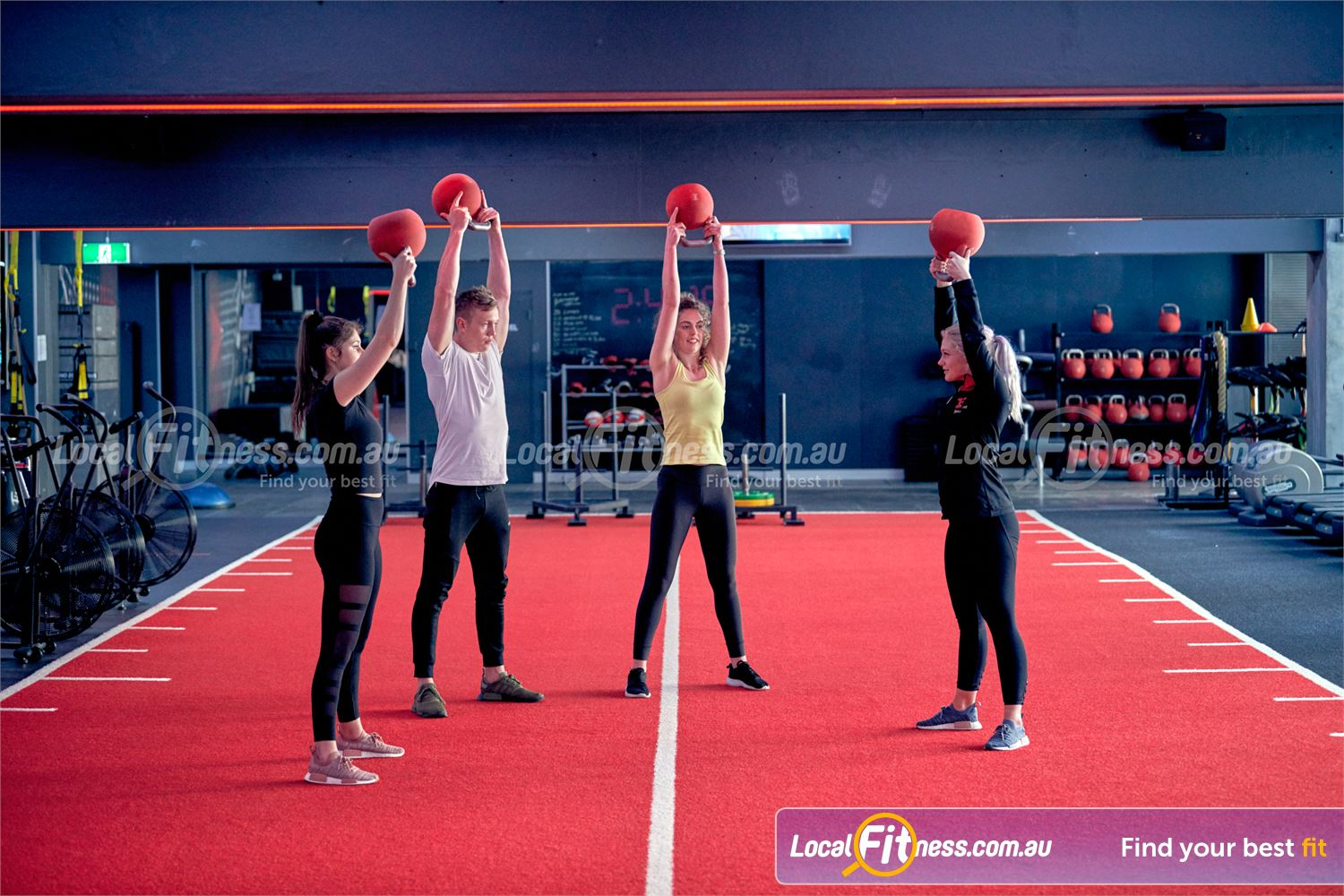 Fitness First Rockdale Join our range of popular freestyle strength classes.