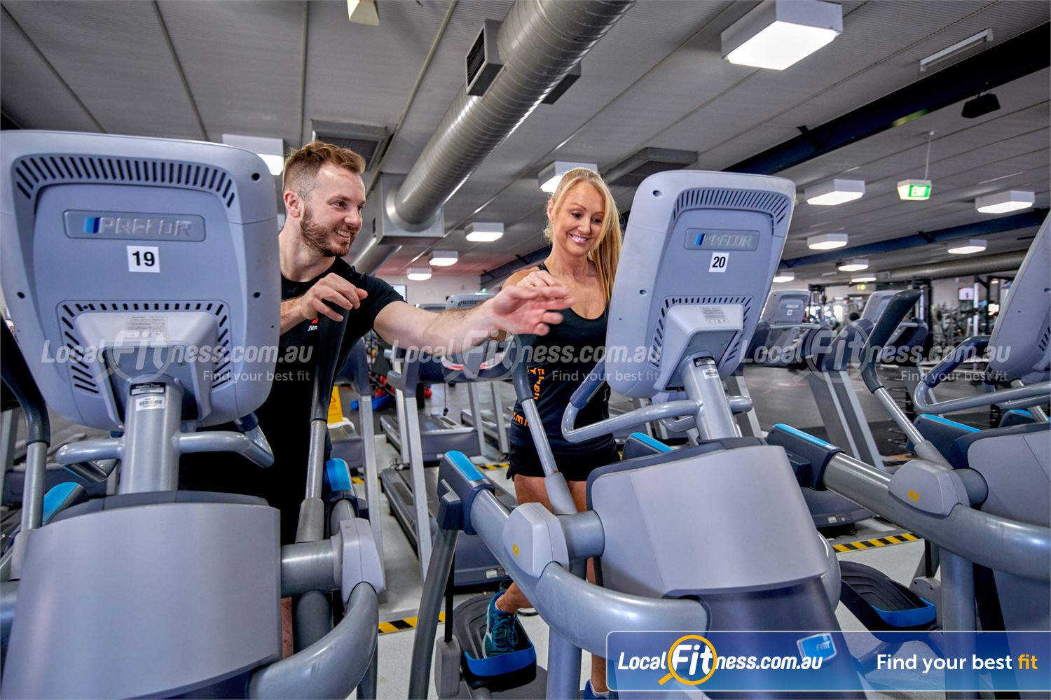 Fitness First Near Kogarah Our Rockdale gym team can take you through a cardio workout.