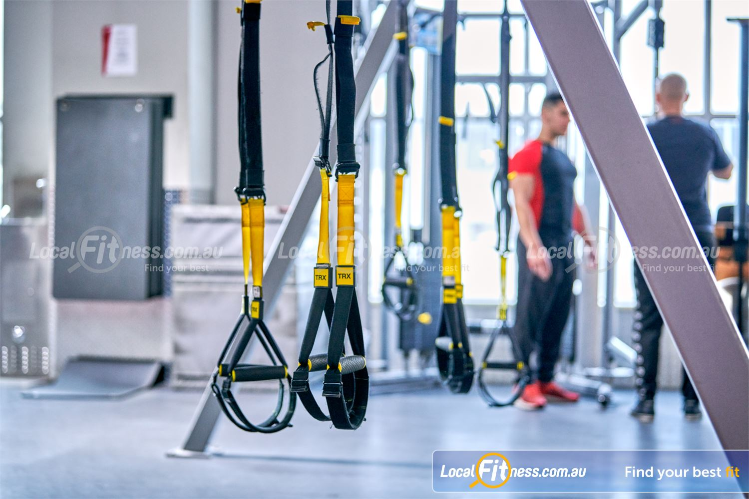 Fitness First Near Ramsgate Beach Get functional with TRX training and challenge your core.