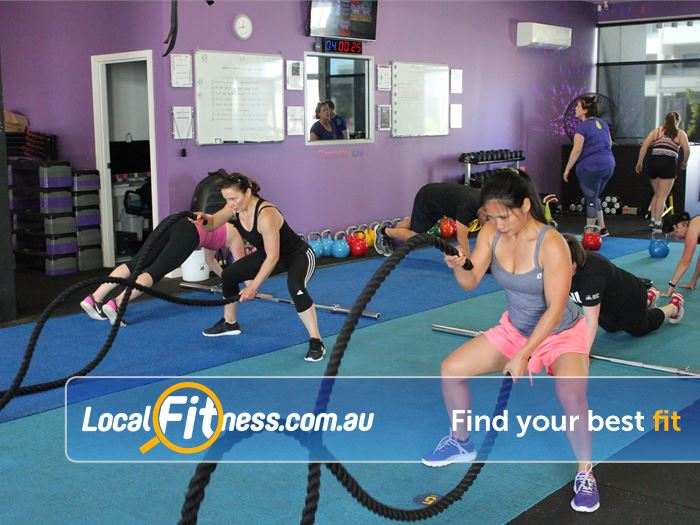 Elements4Life Gym Harrison  | Get functional with Battle rope training.