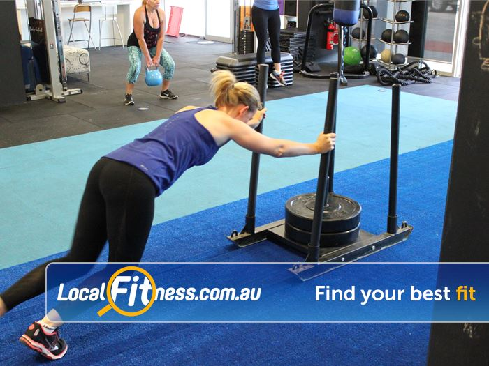 Elements4Life Harrison Get functional with prowler training.