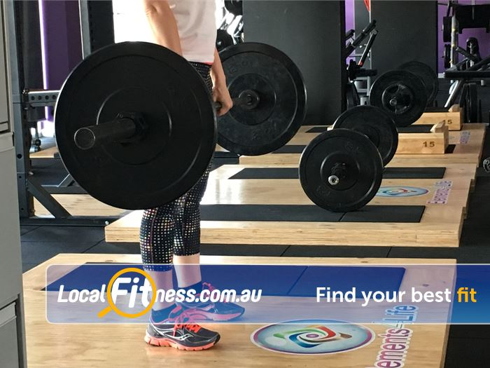 Elements4Life Harrison Our Harrison gym includes heavy duty lifting platforms.