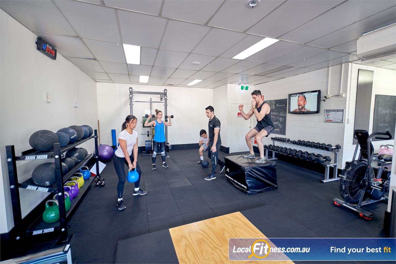 Goodlife Health Clubs Near Canterbury Get into functional training with our range of Balwyn HIIT classes.