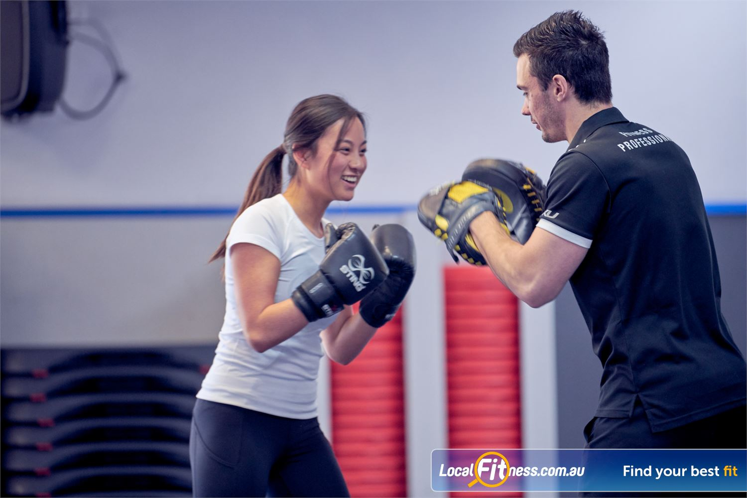 Goodlife Health Clubs Near Surrey Hills Our Balwyn personal trainers can design a fun yet effective workout for you.