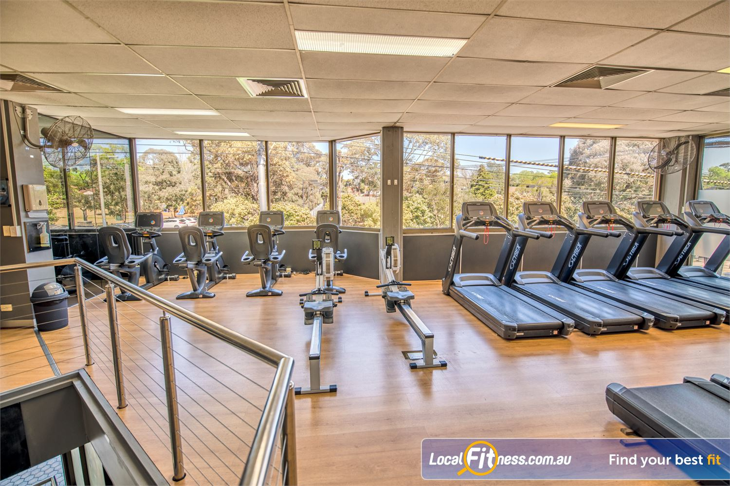 Goodlife Health Clubs Balwyn Our Balwyn gym provides a wide variety inc. treadmills, cycle bikes, rowers and more.