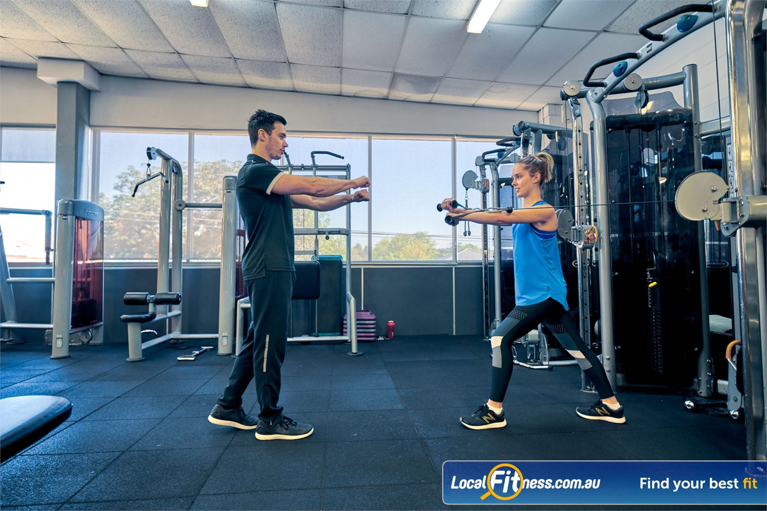 Goodlife Health Clubs Balwyn Our Balwyn gym is fully equipped with state of the art pin-loading equipment.
