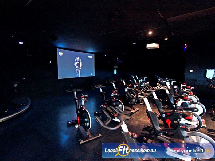 South Pacific Health Clubs Murrumbeena Gym Fitness Experience virtual cycle