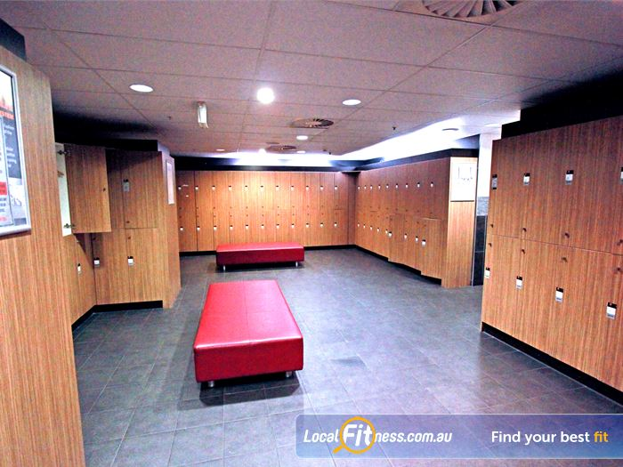 South Pacific Health Clubs Chadstone Gym Fitness Spacious change rooms with