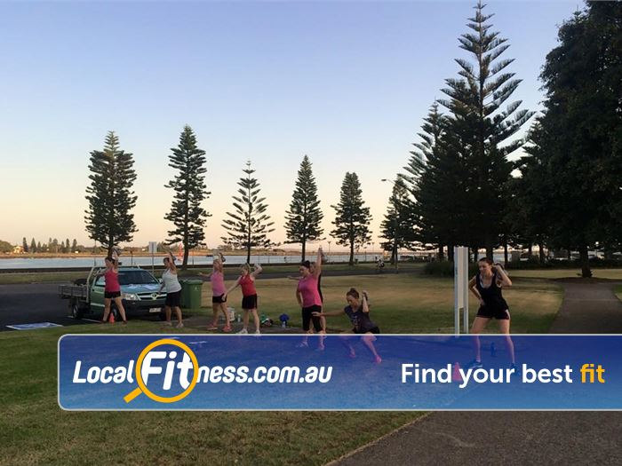Bodywise Fitness Charlestown Take advantage of training in the beautiful outdoors.