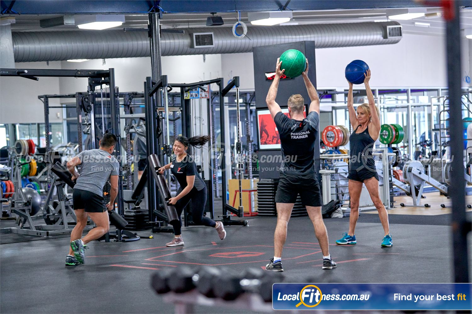 Fitness First Deakin Join our range of popular freestyle strength classes.