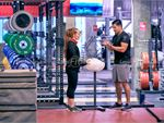Fitness First Deakin Gym Fitness Strength cages are great for