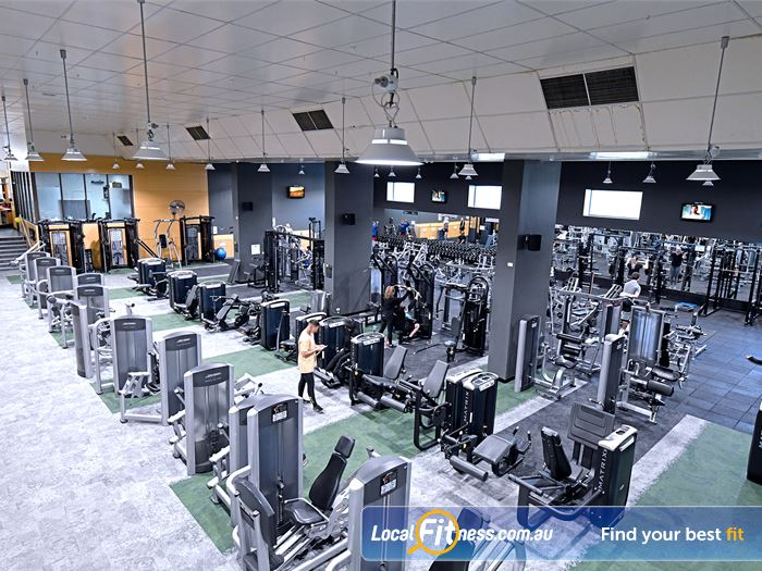 Goodlife Health Clubs Gym Wantirna  | Nearly 7000 sq/m at Goodlife Wantirna gym.