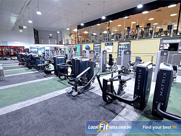 Goodlife Health Clubs Gym Blackburn South    State of the art pin-loading machines from Life