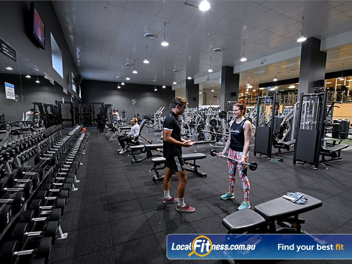 Goodlife Health Clubs Gym Doncaster East  | Dumbbells, barbells, benches, racks and more.