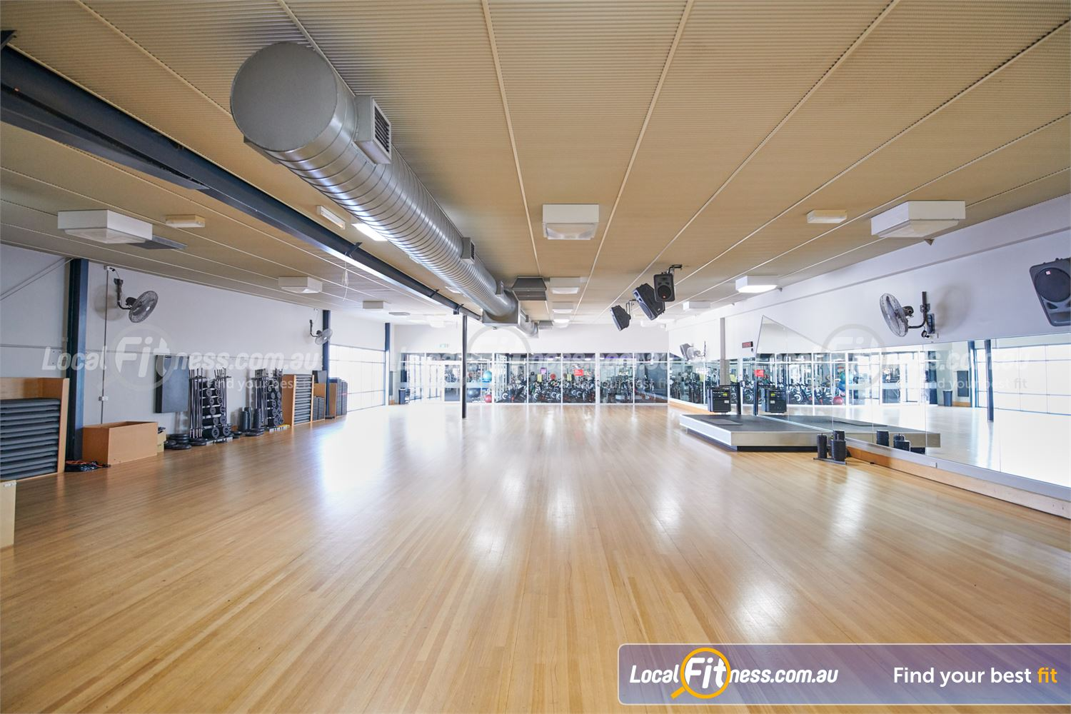 Fitness First Bayside Near Bentleigh Over 100 classes per week inc. Yoga, Pilates, Bayside Zumba, Boxing.