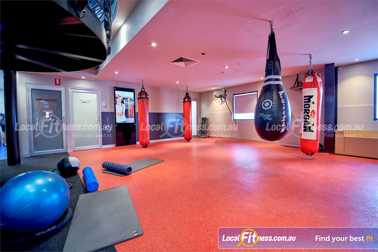 Fitness First Bayside Near Black Rock Our gym includes a Bayside boxing space with heavy bags.