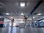 Fitness First Bayside Bentleigh Gym Fitness Plyometric box jumps are a