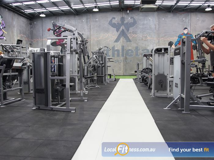 Athleta Gym 24 Hour Gym Melbourne  | Welcome to the biggest 24/7 gym in Williamstown.