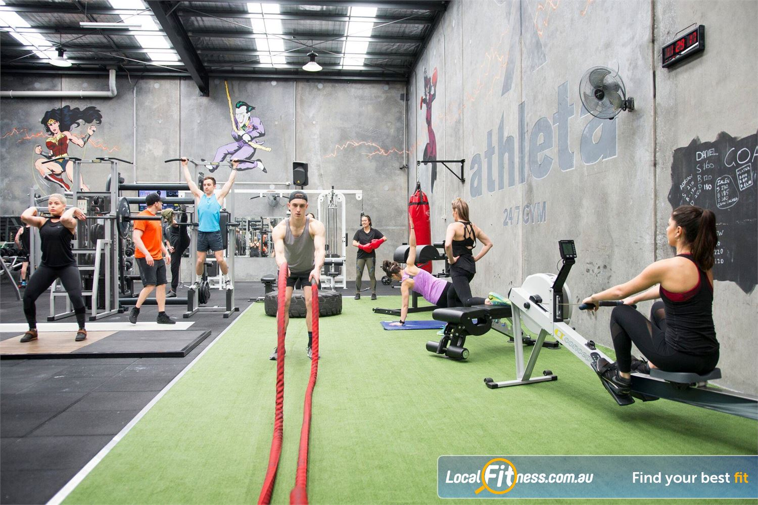 Athleta Gym Near Williamstown Get into functional training in our  Williamstown HIIT gym.