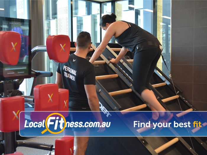 Surge Fitness Perth Innovative fitness with Jocobs ladder and the Nexersys boxing systems.