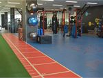 Surge Fitness Perth Gym Fitness Indoor running track, sled
