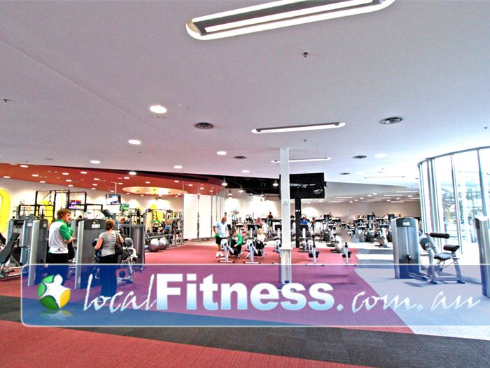 Glen Eira Sports and Aquatic Centre (GESAC) Gym Dingley Village  | The state of the art 800 sq/m GESAC