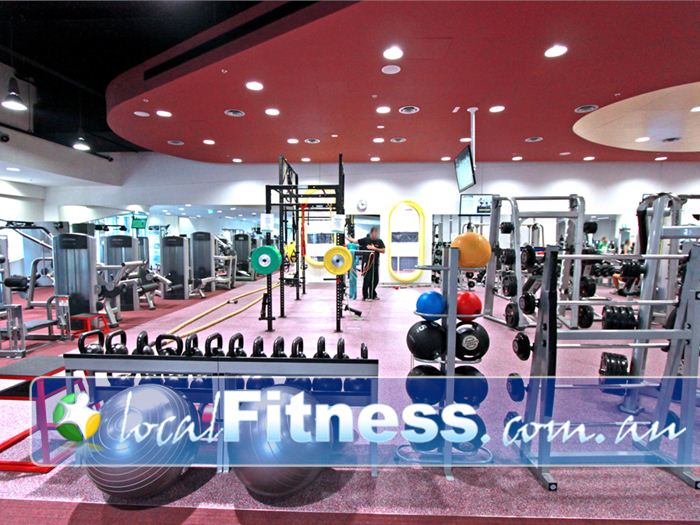 Glen Eira Sports and Aquatic Centre (GESAC) Gym Chadstone  | Our core and restore functional training zone is