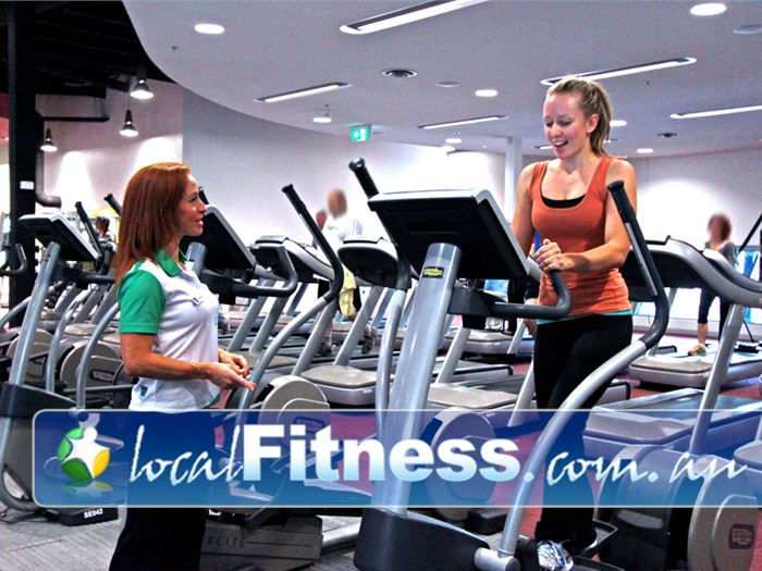 Glen Eira Sports and Aquatic Centre (GESAC) Bentleigh East Gym Fitness The latest Technogym screens