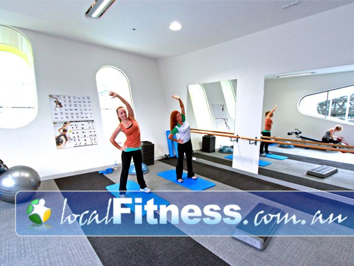 Glen Eira Sports and Aquatic Centre (GESAC) Bentleigh East Gym Fitness Fully equipped with stretching