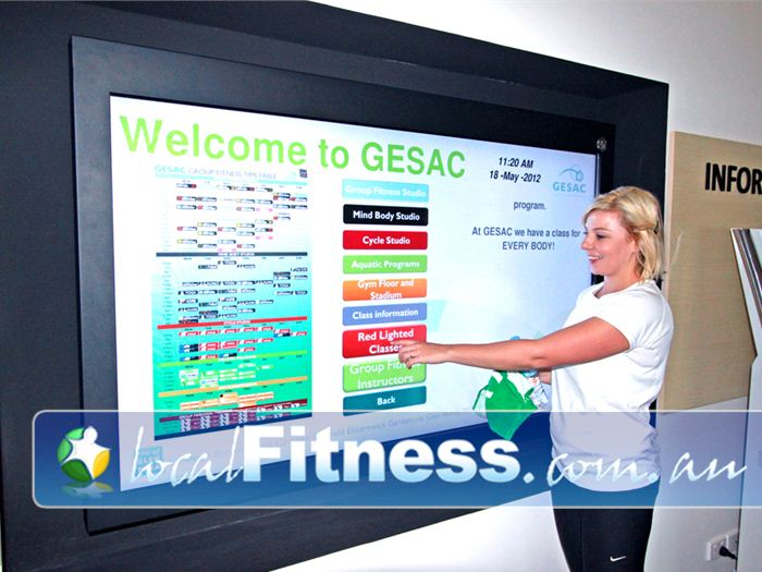 Glen Eira Sports and Aquatic Centre (GESAC) Oakleigh South Gym Fitness Over 100 Bentleigh group