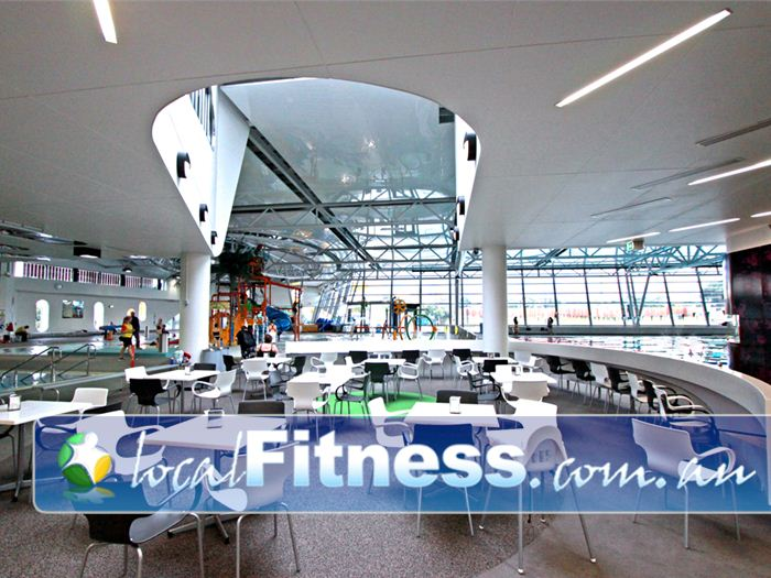 Glen Eira Sports and Aquatic Centre (GESAC) Moorabbin Gym Fitness Convenient indoor seating so