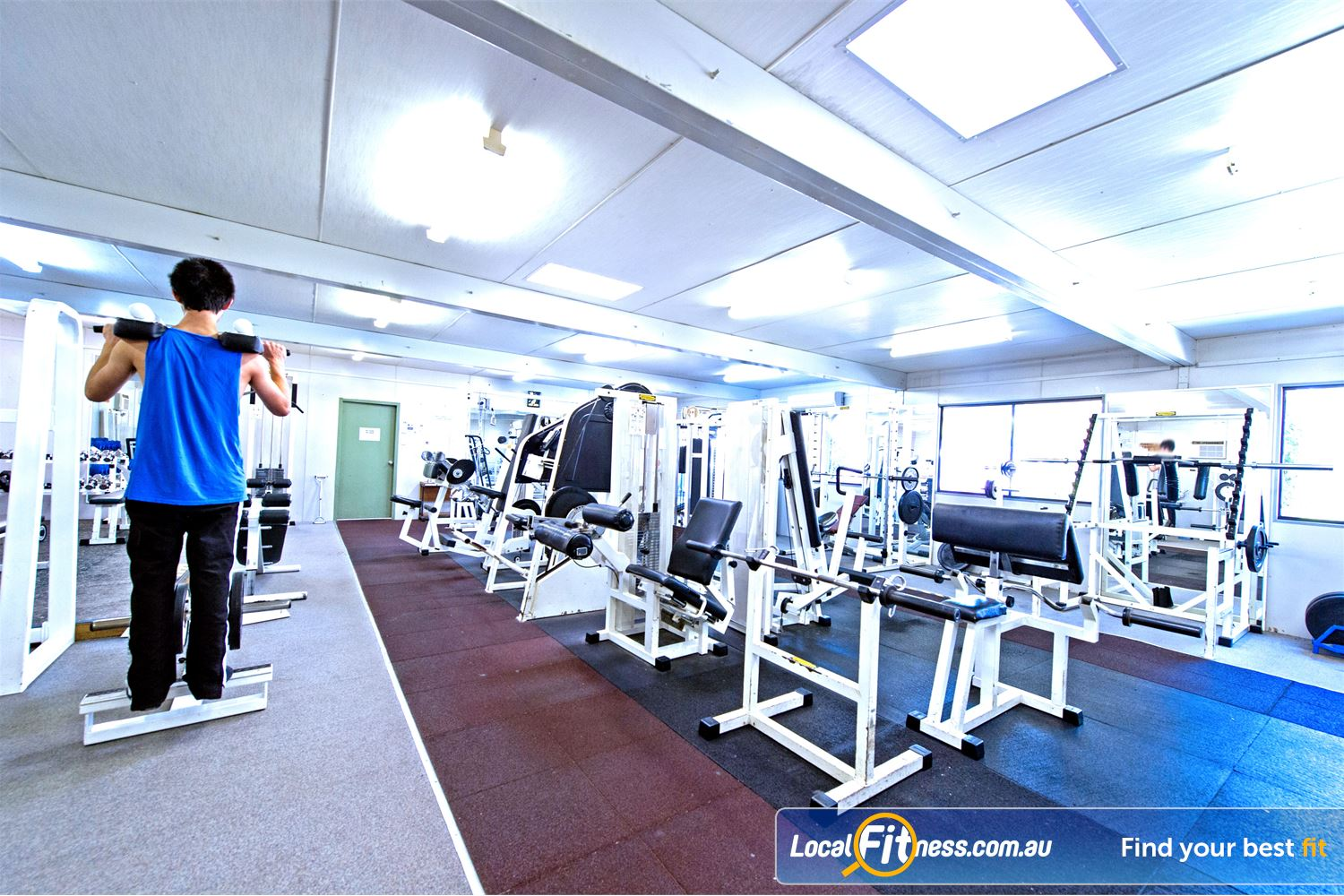 Waves Fitness and Aquatic Centre Baulkham Hills Full range of easy to use pin-loading and plate-loading machines.