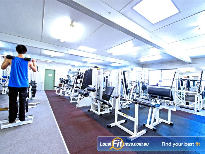 Waves Fitness and Aquatic Centre Gym Bella Vista  | Full range of easy to use pin-loading and