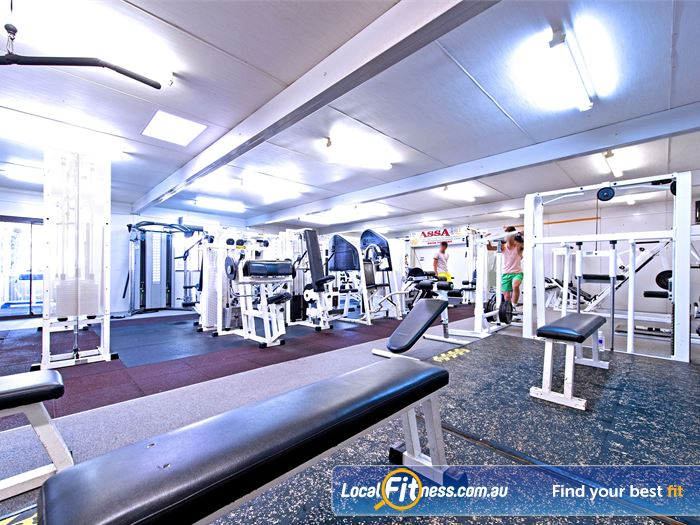 Waves Fitness and Aquatic Centre Near Bella Vista Our Baulkham Hills gym includes a comprehensive free-weights area.