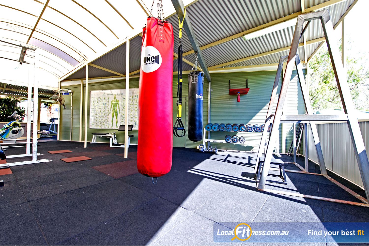 Waves Fitness and Aquatic Centre Near Winston Hills Incorporating boxing and TRX training into your workout.