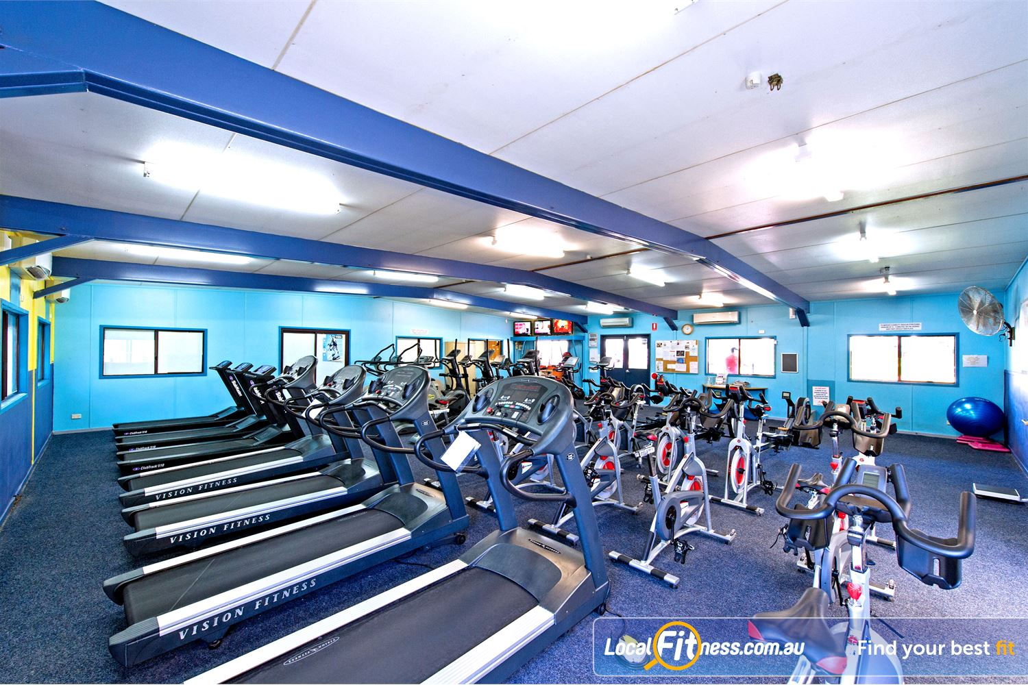 Waves Fitness and Aquatic Centre Near Castle Hill The state of the art cardio area.
