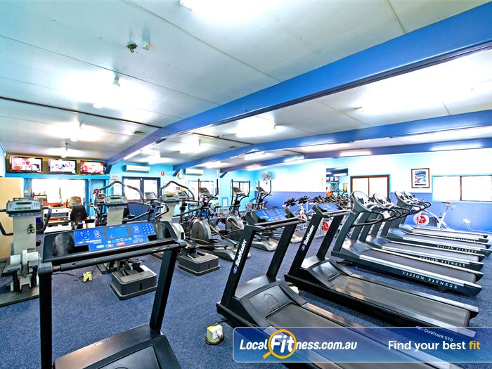 Waves Fitness and Aquatic Centre Baulkham Hills Tune into your favourite shows while you train.