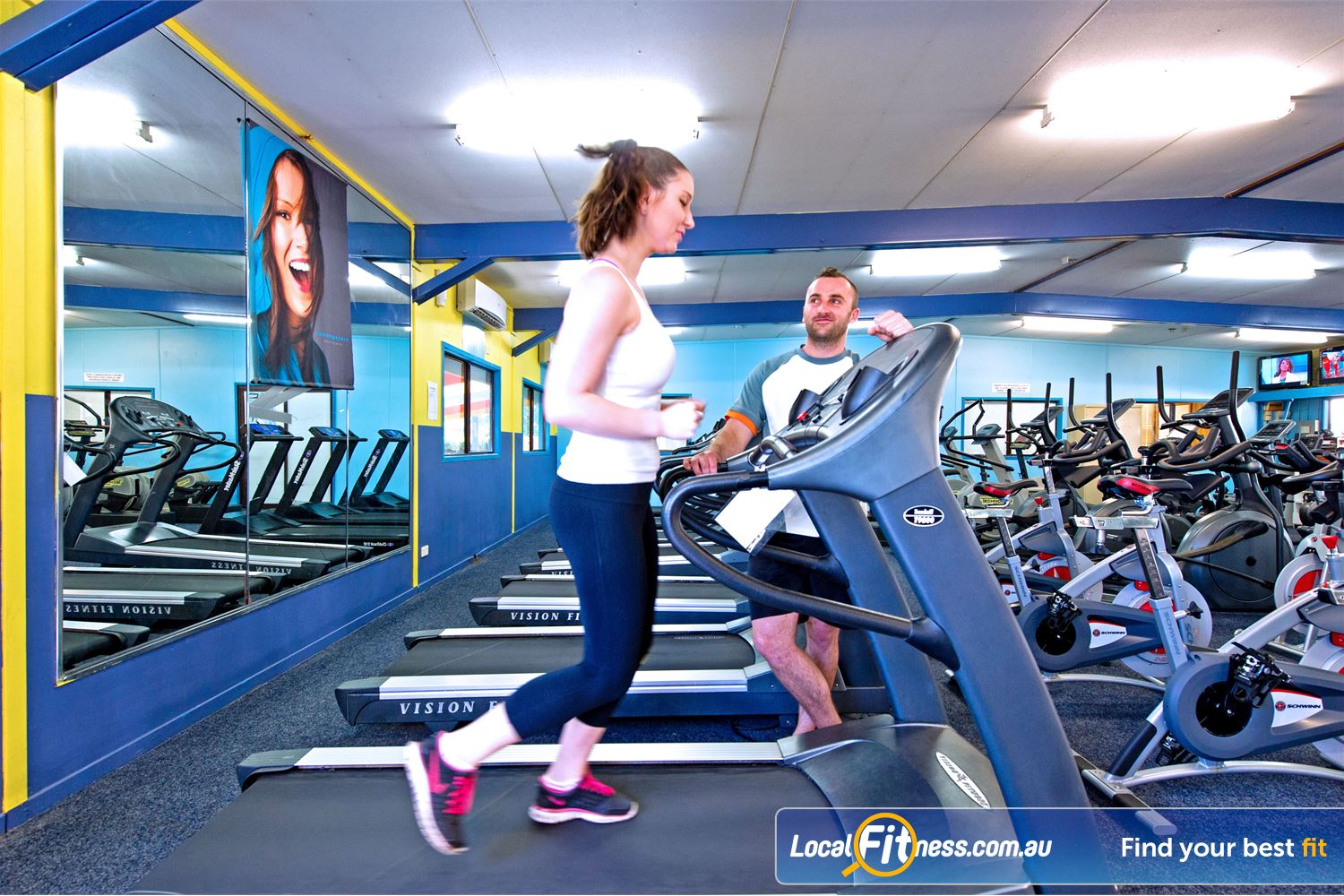 Waves Fitness and Aquatic Centre Near Bella Vista Baulkham Hills gym can incorporate cardio training into your workout.