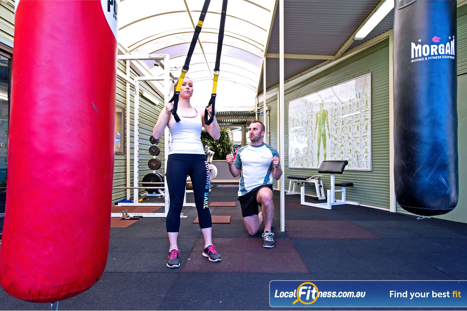 Waves Fitness and Aquatic Centre Baulkham Hills Our Baulkham Hills gym instructors can introduce you to TRX training.