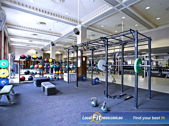 Goodlife Health Clubs Adelaide City Gym North Adelaide  | Fully equipped for functional training in Adelaide.