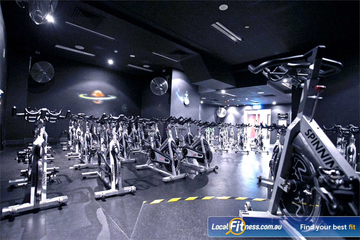 Goodlife Health Clubs Adelaide City Adelaide Burn calories fast with Adelaide spin cycle classes.